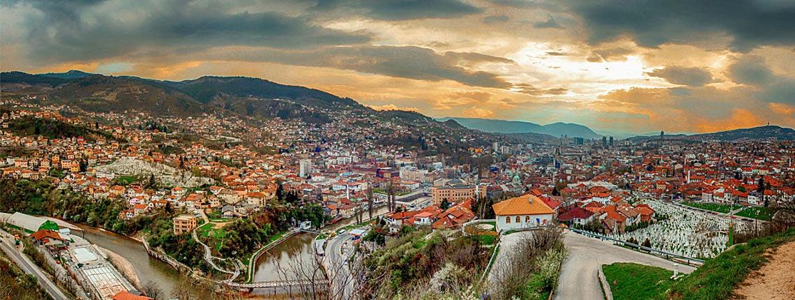 Kotor Montenegro to Sarajevo