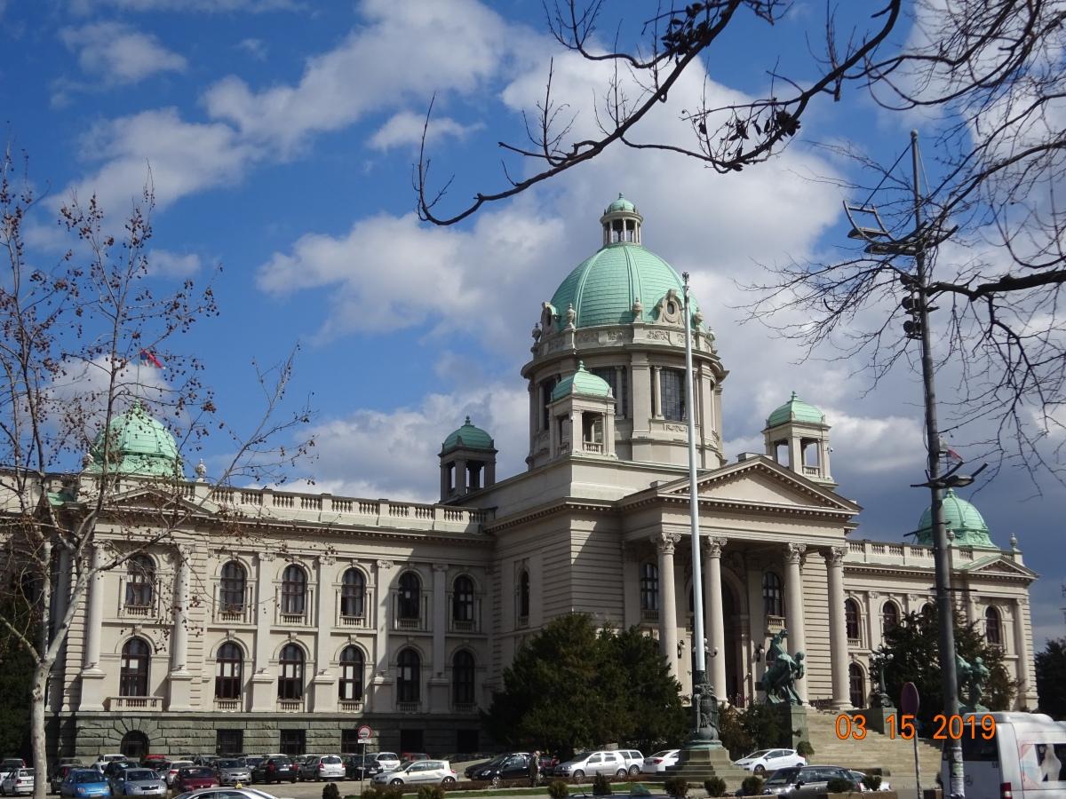 Central Belgrade Serbia