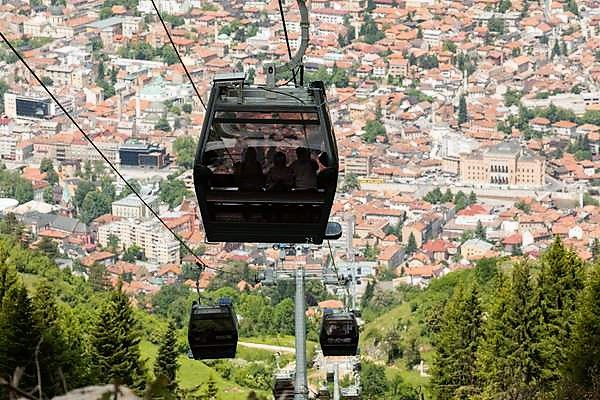 Sarajevo Cable Car and War Bunker