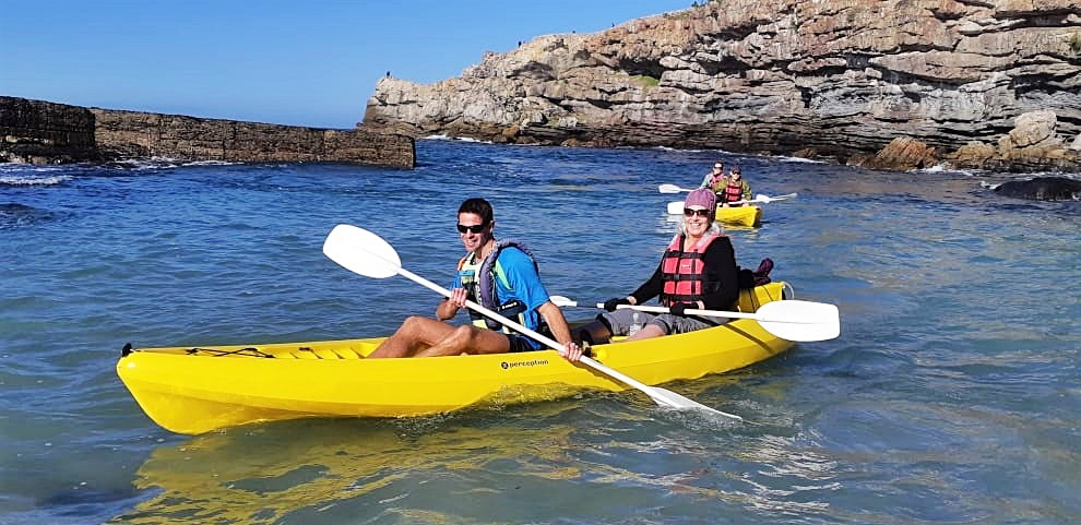 Sea Kayaking Walker Bay South Africa