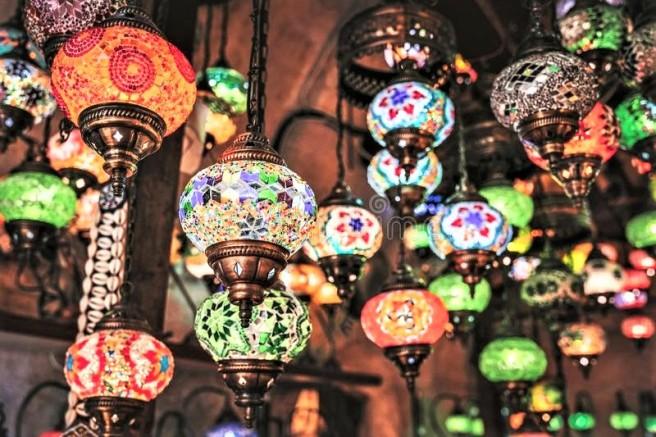 Turkish Lamps -dreamstime.com