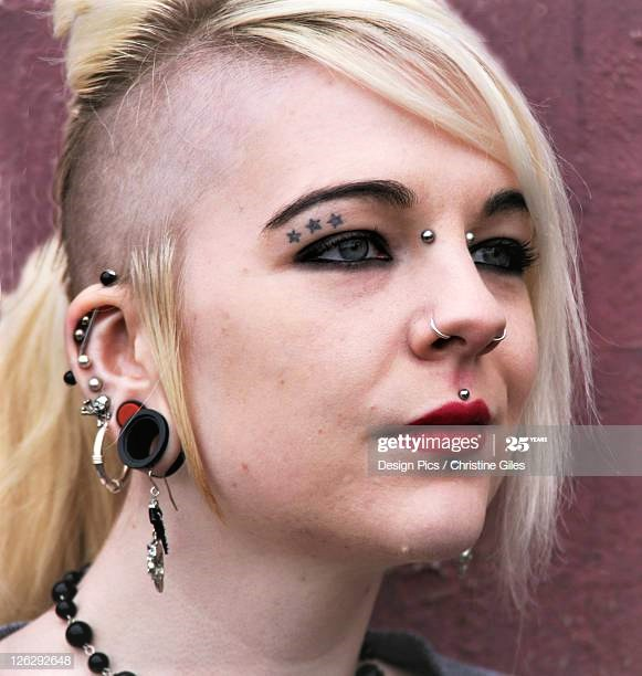 Face Tattoos - Getty Images