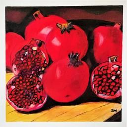 Pomegranate Arrangement