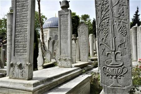 Gravestones Eyüp Cemetery