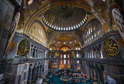 Interior Hagia Sophia - Daily Sabah