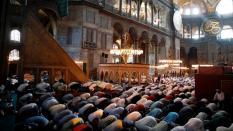 Prayers Hagia Sophia - TRT World