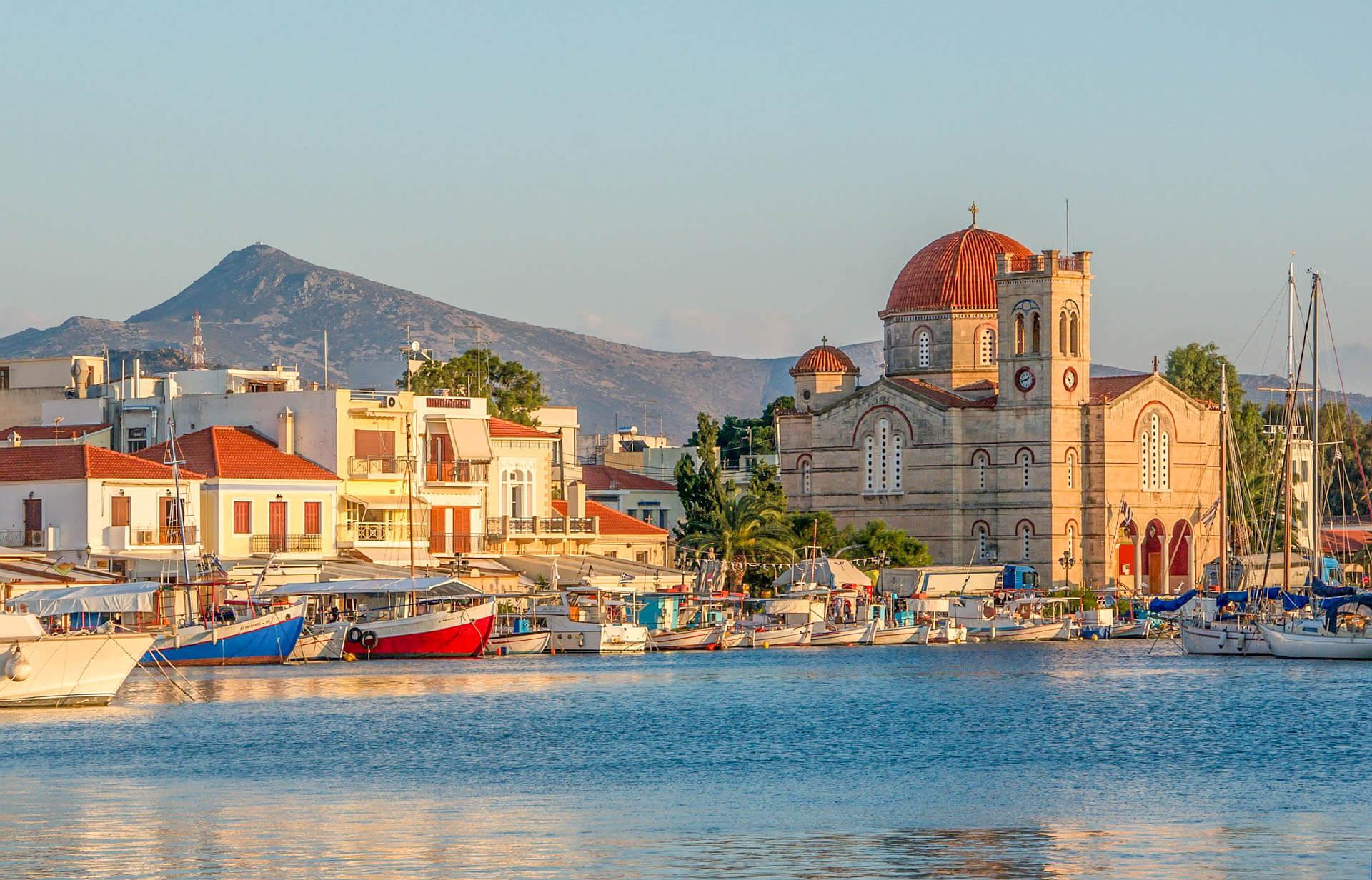 Athens to Agistri, Moni, and Aegina Islands Greece