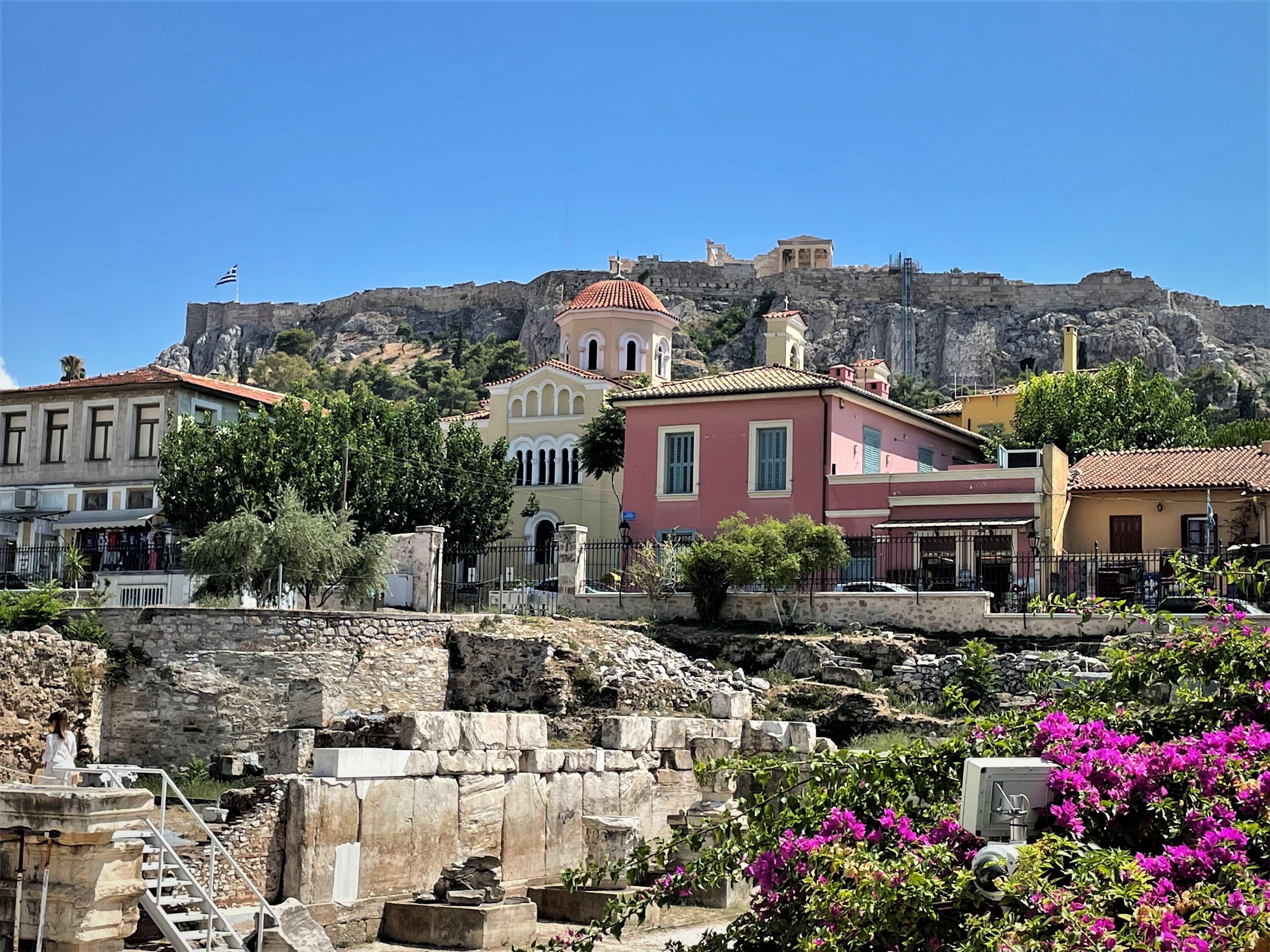 Monastiraki Neighborhood Athens Greece