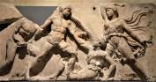 Greek and Amazons Frieze - World History Encyclopedia