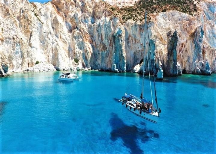 Milos Island Western Cyclades Greece