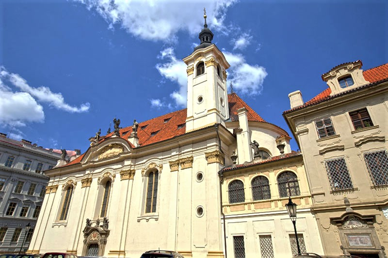 Haydn and Mozart at the Church of Saints Simon and Jude Prague
