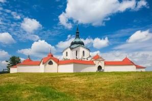 Pilgrimage Church of St. John of Nepomuk Pilgrimage Church Architect Jan Blažej Santini - Amazing Czechia Bigstock®