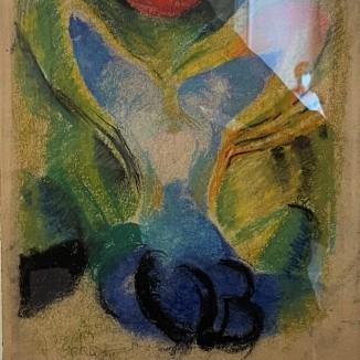 Study for Painting The Coloured One František Kupka