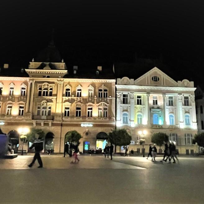 Art Nouveau Buildings Liberty Square Novi Sad